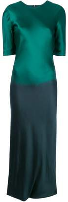 Rojas Alejandra Alonso side slit dress