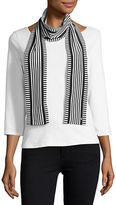 MICHAEL Michael Kors Striped Fashion Scarf