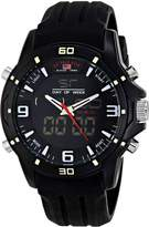U.S. Polo Assn. Sport Men's US9490 Analog-Digital Watch With Silicone Band