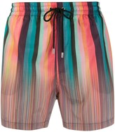 Paul Smith striped swimming shorts