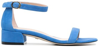 Stuart Weitzman Nudist June leather sandals