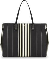 Tory Burch Kerrington striped leather tote