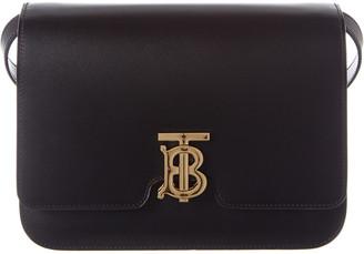 Burberry Medium Tb Leather Shoulder Bag