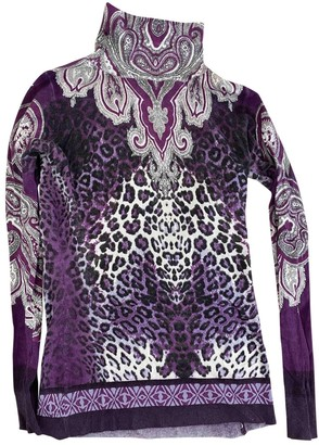 Etro Purple Cashmere Knitwear for Women
