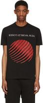Hood by Air Black new World Loser T-shirt