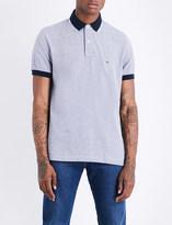 Tommy Hilfiger Oxford stretch-cotton piqué polo shirt