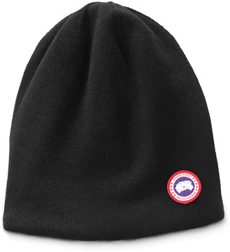 Canada Goose Men's Standard Logo Toque Winter Beanie Hat