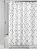 "InterDesign Moroccan Trellis Fabric Polyester Shower Curtain, 72"" x 72"" –"