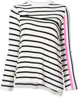 Nude striped jumper