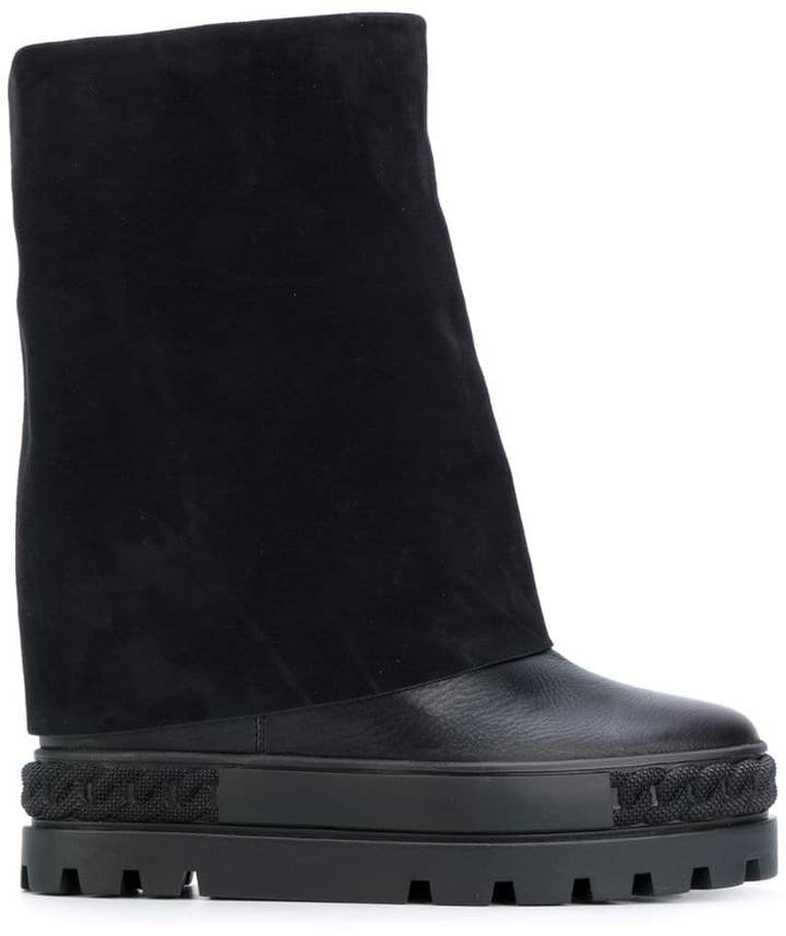 Casadei concealed platform boots