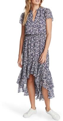 1 STATE Wildlfower Bouquet High/Low Dress