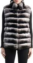 Gorski Chinchilla Fur Vest