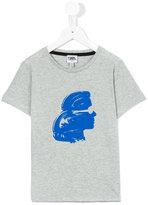 Karl Lagerfeld silhouette T-shirt - kids - Cotton - 2 yrs
