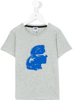 Karl Lagerfeld silhouette T-shirt - kids - Cotton - 4 yrs