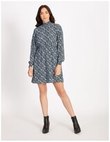 Thumbnail for your product : Only Winner Floral Print Long Sleeve Dress