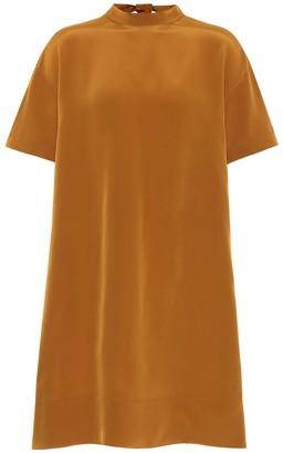 Chloé Satin-crepe minidress