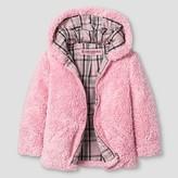 Urban Republic Girls' Fuzzy Jacket - Powder Pink