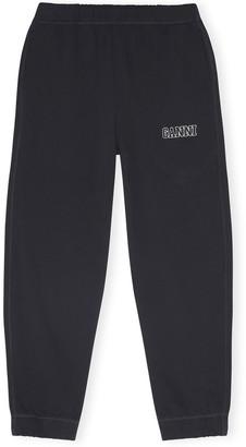 Ganni Software Isoli Sweatpant in Black