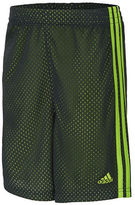 adidas Boys 2-7 Mesh Athletic Shorts