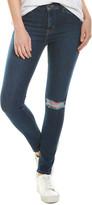 Hudson Jeans Blair Dark Blue High-Rise Super Skinny Ankle Cut