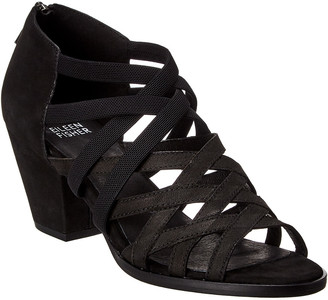 Eileen Fisher Fara Leather Heeled Sandal