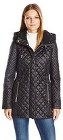 French Connection Women's Quilted Anorak with Hood