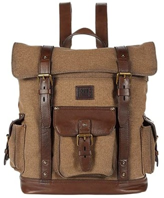 Frye Ethan Backpack (Wheat) Backpack Bags