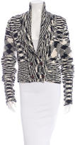 M Missoni Double-Breasted Wool Cardigan