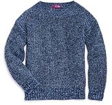 Aqua Girls' Marl-Knit Sweater, Big Kid - 100% Exclusive