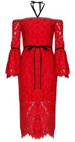 Alexis Odette Dress Red Lace