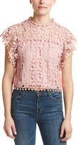 Romeo & Juliet Couture Lace Crop Top