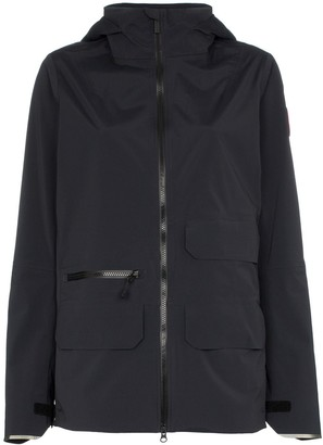 Canada Goose Pacifica zip-up raincoat