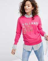 House of Holland Holland Long Sleeve Sweatshirt