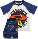 Fabric Flavours PRINTED COTTON JERSEY T-SHIRT & SHORTS