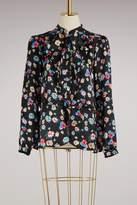Paul & Joe Silk printed flowers Menuet blouse