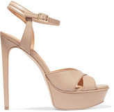 Halston Naomi leather sandals