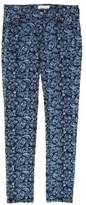 Etoile Isabel Marant Patterned Straight-Leg Jeans