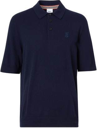 Burberry Monogram Motif short-sleeve polo shirt