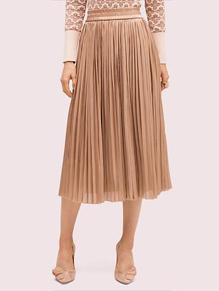 Kate Spade Metallic Midi Skirt