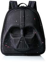 Loungefly Galaxy Print Darth Vader 3D Molded Laptop Backpack