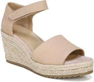 Naturalizer Soul Leather Espadrille Wedge Sandals - Oribella