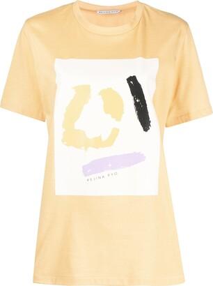 REJINA PYO Graphic-Print Short-Sleeved T-Shirt