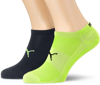Puma 271003001 UK 6-8 Sports Socks Performance Train Light Sneaker (2 Pair Pack) White