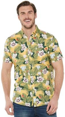 Sonoma Goods For Life Big & Tall Poplin Button-Down Shirt