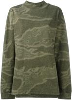 Yeezy Season 3 camouflage sweatshirt