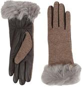 UGG Smart Fabric Gloves w/ Toscana Trim