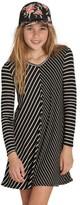 Billabong Girl's Just Because Mitered Stripe Dress