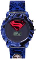 DC COMICS DC Comics Batman vs. Superman LCD Rotating Flash Dial with Superman Strap Watch