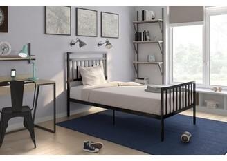 DHP Generic Jackson Modern Metal Bed, Black, Multiple Sizes