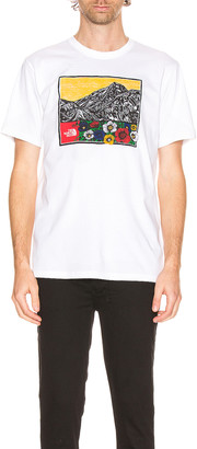 The North Face Short Sleeve Himalayan Source Tee in TNF White | FWRD